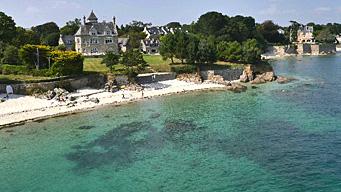 Spaziergang im Herzen der bretonischen Riviera
