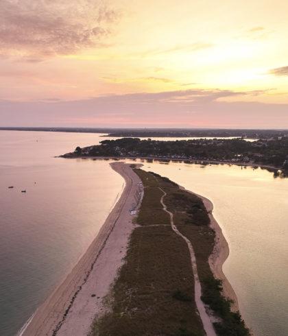Sonnenuntergang am Letty-Strand, Bénodet