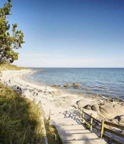 Strand von Kermy Beg-Meil