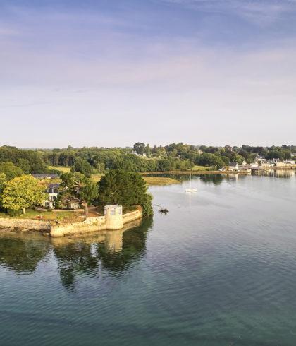 Blick über die Bucht La Forêt-Fouesnant